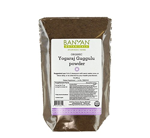 Banyan Botanicals Yogaraj Guggulu Powder - Certified Organic, 1 Pound - Balances Vata in the joints, nerves and muscles*