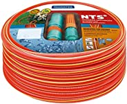 Tramontina Mangueira NTS Antitorção com Engates Rápidos e Esguicho em PVC 5 Camadas, 1/2 Polegadas, 15 m, Verm