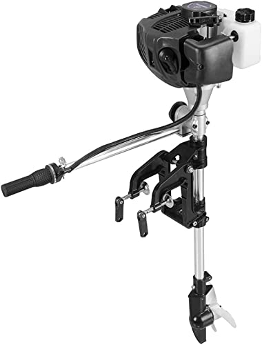 2.5-HP 2-Stroke Freshwater/Saltwater Outboard Motor (Inflatable Fishing Boat Engine) for Inflatable Boat, Fishing Boat, Sailboats, Small Yacht  [SeaGog] detail review
