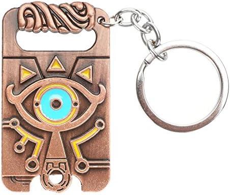 Keysmart Legend Of Zelda Schlüsselanhänger Mit Shiekah Stein Aus Breath Of The Wild Amazon De Spielzeug