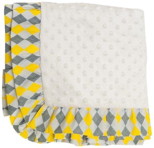 - Pam Grace Creations Blanket, Argyle Giraffe