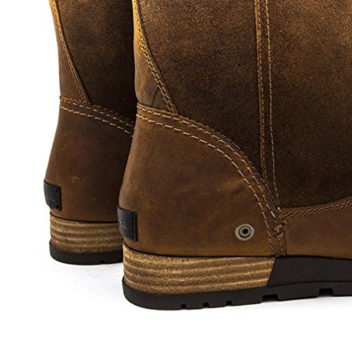 On Bear British Grizzly Ladies Leather Brown Canvas Major Suede Tan Boot Sorel Pull waYZRqvZx