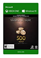Middle-Earth: Shadow Of War – 500 Gold - Xbox One [Digital Code]