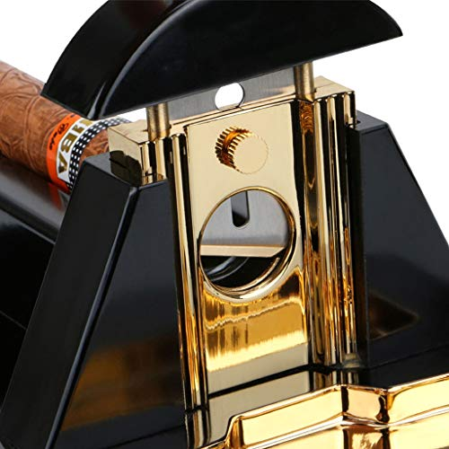 WMM- Cigar cutter Cigar Cutter Luxury Table Top Cigar Guillotine Cigar Knife for Most Size of Cigars by WMM- Cigar cutter (Image #4)