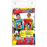 "Amscan Amazing Disney Mickey Mouse Birthday Party Potato Sack Game (4 Piece), 37 7/10"" x 23 1/3"", Multicolor"