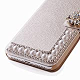 LQinuan Samsung Galaxy S9 Flip Case, Cover for