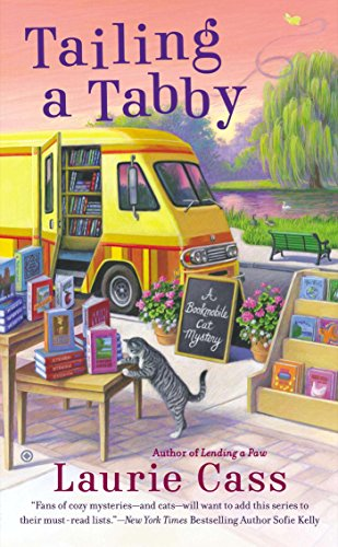 Tailing a Tabby (Bookmobile Cat Mysteries Book 2)