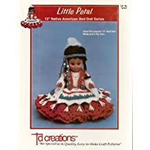 """TD Creations Little Petal 13"""" Native American Bed Doll Series (TD-857)"""