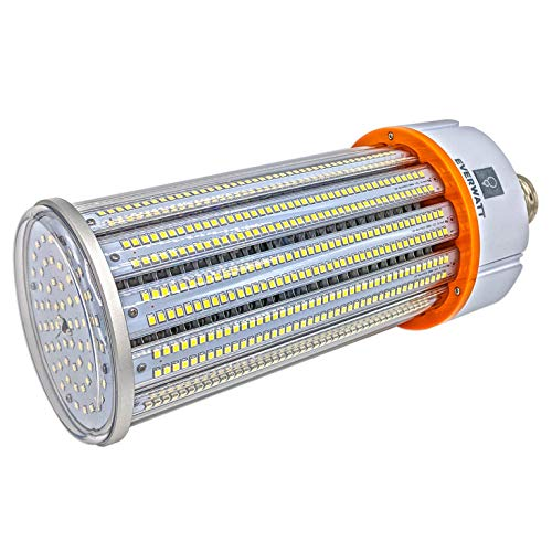 150W LED Corn Light Bulb, 800W Equivalent, Large Mogul E39 Base, 21892 Lumens, 4000K, IP64 Waterproof Outdoor Indoor Area Lighting, Replacement for Metal Halide HID, CFL, HPS from EverWatt