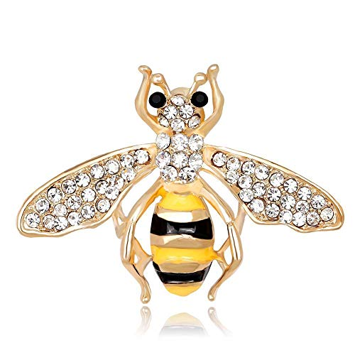 Delicate Gifts Bee Insect Lapel Pin Brooch Garment Accessories Fashion Jewelry