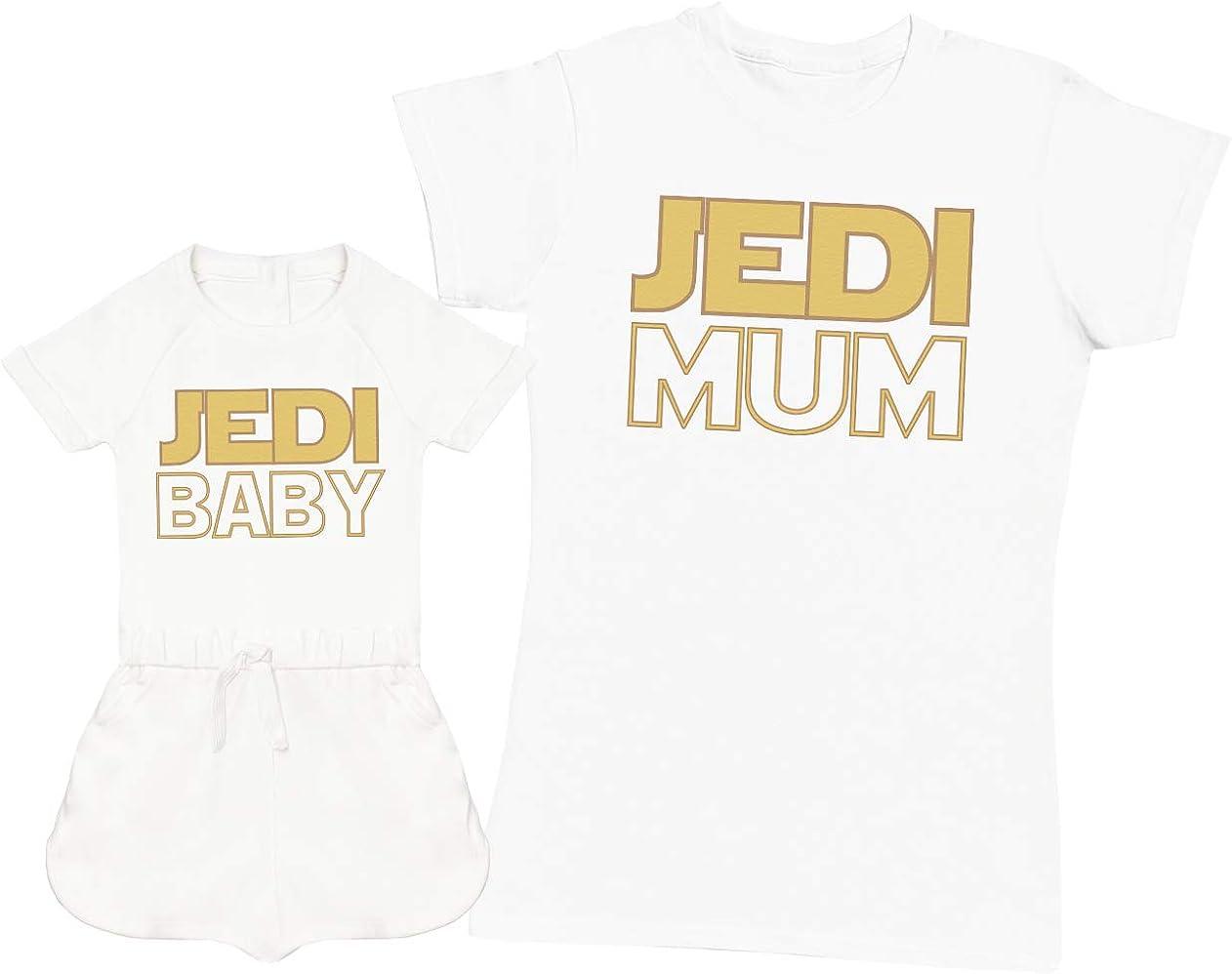 Jedi Baby & Jedi Mum - Regalo para Madres y Mono de niña y ...