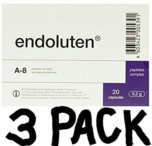 Endoluten Pineal Peptide Bioregulator A-8 **3 PACK!! by Endoluten