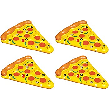 Amazon.com: 2-Pack de Swimline gigante hinchable Pizza Slice ...