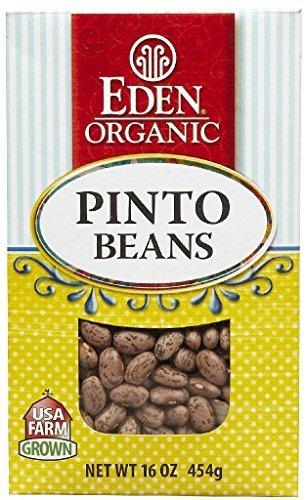 Eden Foods Organic Pinto Beans, 16 OZ (Pack - 1) by Eden