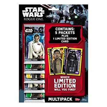 Topps Star Wars Rogue Un Juego De Cartas Coleccionables ...