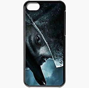 Personalized iPhone 5C Cell phone Case/Cover Skin Abraham Lincoln Vampire Hunter Black