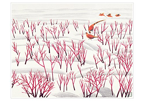 Hao Boyi: Snow Countryside Holiday Cards