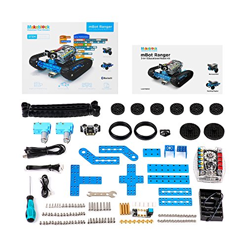 Makeblock Programmable mBot Ranger Robot Kit, STEM Educational Engineering Design & Build 3 in 1 Programmable Robotic System Kit - Ages 10+ by Makeblock (Image #5)