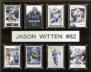 NFL Dallas Cowboys Jason Witten 8-Card Plaque, 12 x 15-Inch