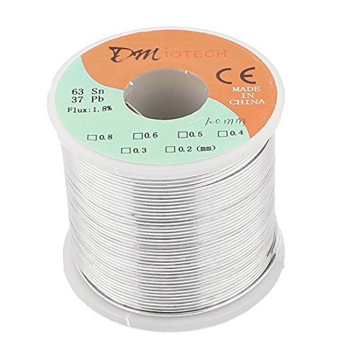 DMiotech 1mm 400G 63/37 Rosin Core Flux 1.8% Tin Lead Roll S