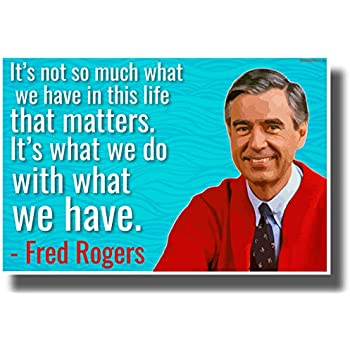 Amazon Com Pyramid America Mister Rogers Neighborhood Tying Shoes Laminated Dry Erase Sign Poster 24x36 Posters Prints