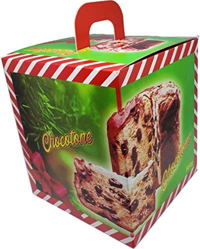 Embalagem Chocotone 500G Linha Verde 25 Peças