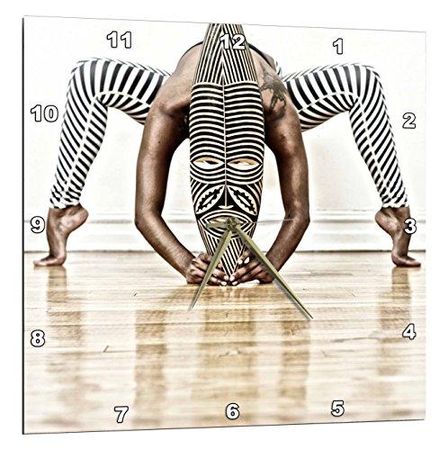 3dRose Dance African Wooden Design