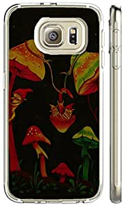 S6 case of TUTU158600 Plastic Phone Case Back Cover galaxy S6 Shell Case - Mushroom High Definition Abstract