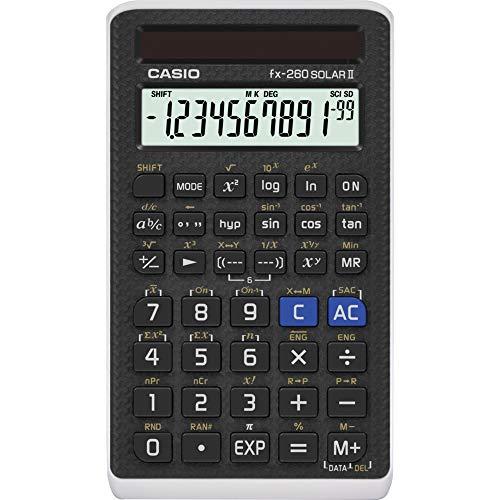 "Image of Casio Scientific Calculator Black, 3"" W x 5"" H, 2.25 (FX-260 SOLARII-S-IH)"