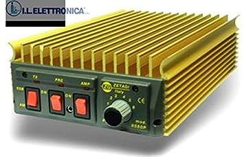 zetagi b550p amplificador lineal 600 W SSB de 20 - 30 mhz 33038: Amazon.es: Electrónica