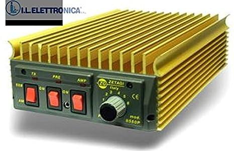 Zetagi B550p Amplificatore Lineare 600w Ssb Da 20 30mhz 33038