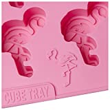 Flamingo Pink Ice Cube Tray Mould Summer Pool Beach Party Drinks