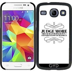 Funda para Samsung Galaxy Core i8260/i8262 - Juzgar Más by wamdesign