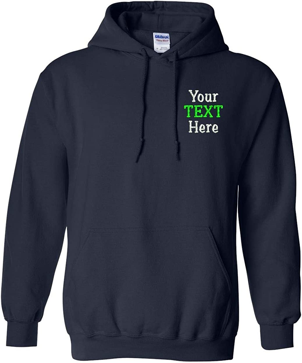 Personalised Embroidered Sweatshirt Jumper Your logo or text