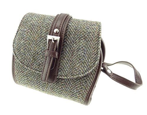 COL5 Ladies Shoulder Mini LB1020 Bag Brown Ladies Mini Harris Tweed TqwTzfr