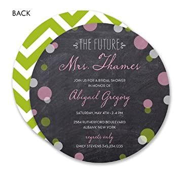 amazon com the future mrs confetti circle bridal shower