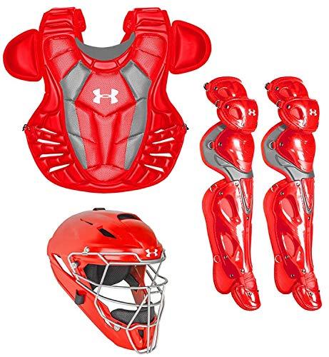 Under Armour Converge Pro Catcher's Gear Set (Scarlet - Adult) ()