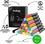 Liquid Chalk Markers (30 Pack 6mm) Pastel + Neon