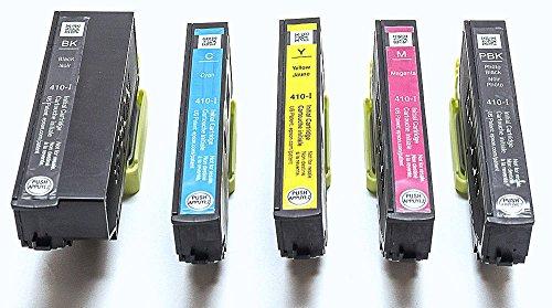 Genuine Epson 410 Initial Ink Cartridge 5 Pack for Expression Premium XP-530 XP-630 XP-635 XP-830 Printer Photo #3
