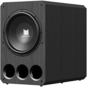 Monolith Powered Subwoofer - 15 Inch with 1,000 Watt Amplifier, THX Certified, Ideal for Professional Studio and Home Theater