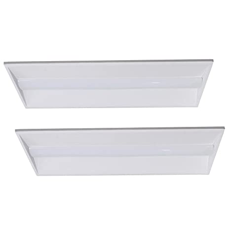 2x4ft 40W LED Troffer Light Recessed Panel Light Fixture Commercial