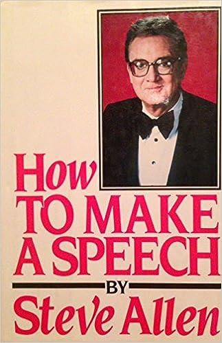 Make a speech