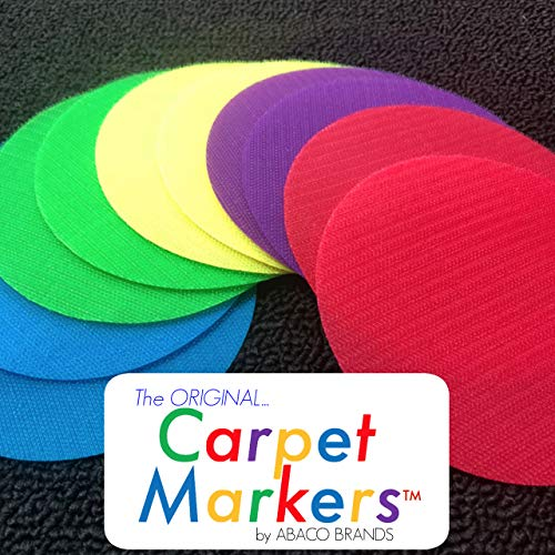 The Original CARPET MARKERS for Teachers (20 Pack of Circles)