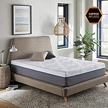 Amazon Com Renue 12 Inch Memory Foam Mattress Copper
