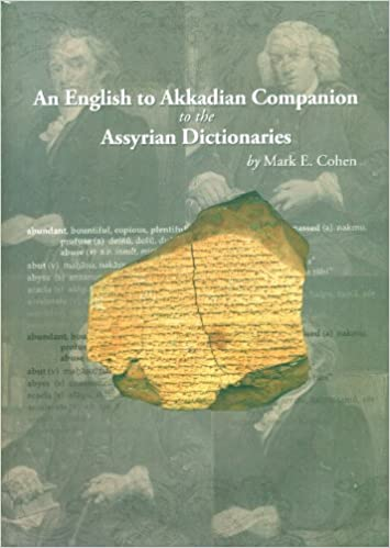 An English-to-Akkadian Companion to the Assyrian Dictionaries