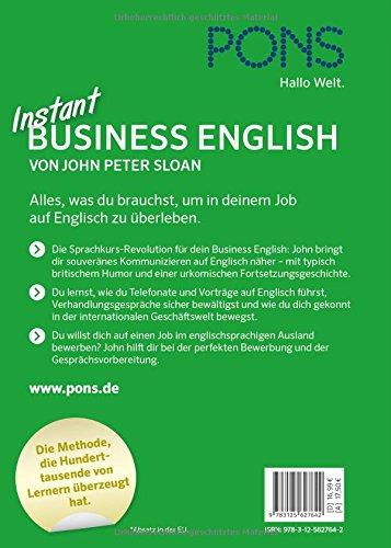 Pons Instant Business English - Die Sprachkurs-Revolution Für Dein