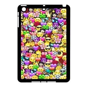 iPad Mini Cover Case, DDdiy Cute emojis Custom Cover Case for iPad Mini