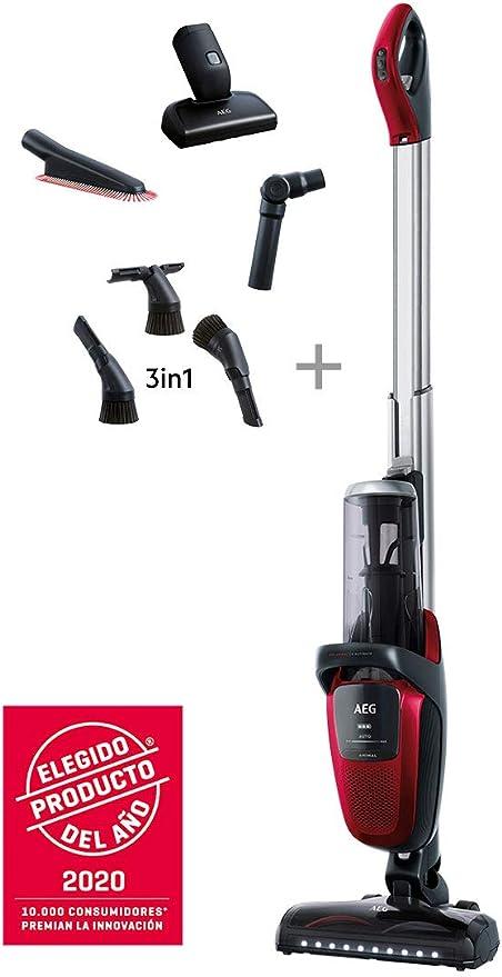 AEG FX9-1-ANIM Aspiradora Escoba Sin Cable 360 Cepillo Mascotas y ...