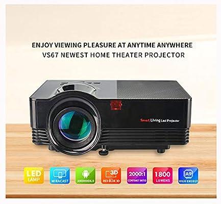 Link Co Proyector led Inicio HD 1080P Pantalla Grande de 180 ...