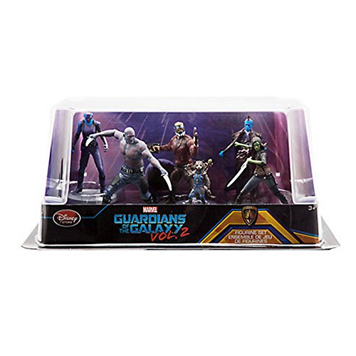 [Official Disney Guardians Of The Galaxy Vol 2 6 Figurine Playset] (Return Of The Jedi Han Solo Costume)